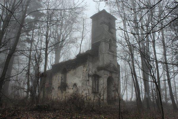 Kaple Sv. Anny u Jiříkova, bývalá obec Hutov