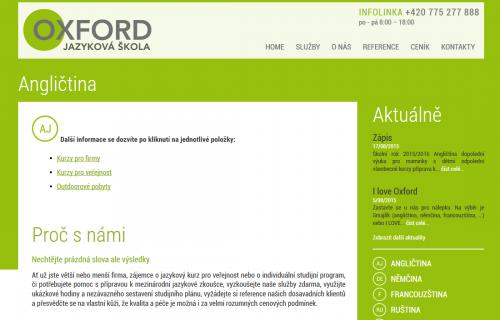 Oxford jazyková škola s.r.o.